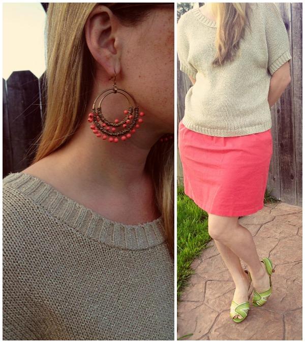 peach skirt 2