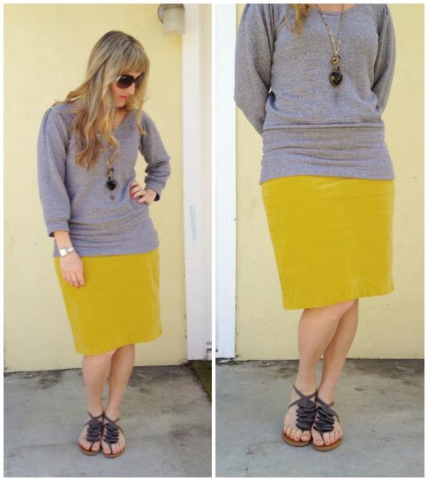 yellow skirt 1