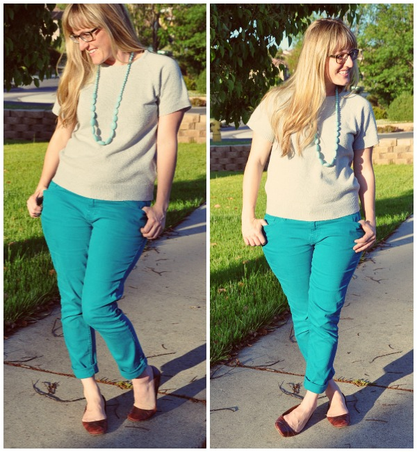 blue pants collage 2