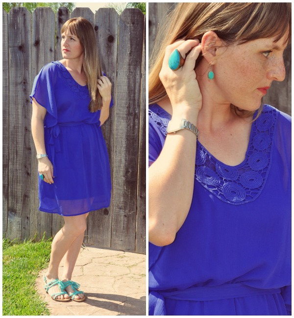 Blue Dress Collage 1