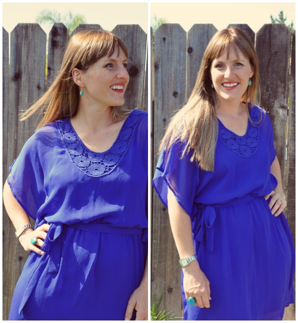 Blue Dress Collage 2