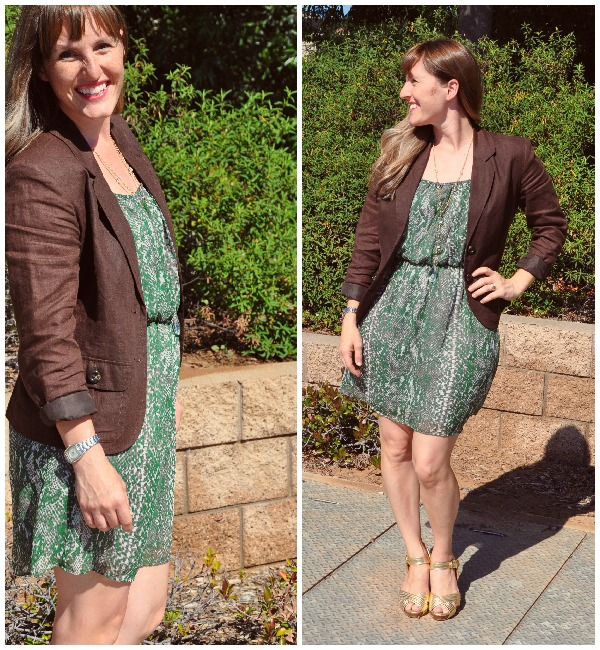 green dress 1