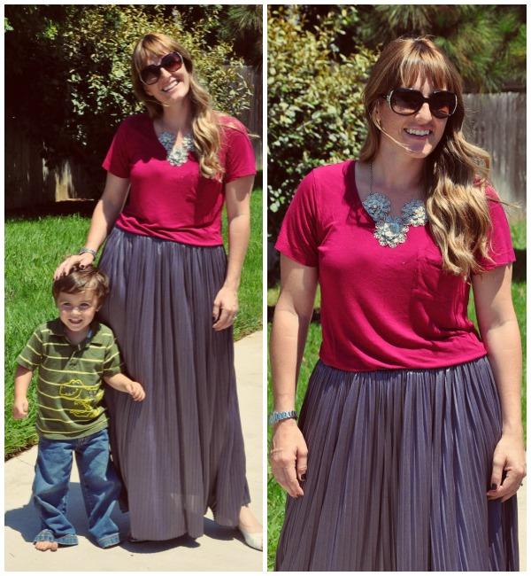 gray skirt 1