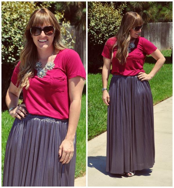 gray skirt 2