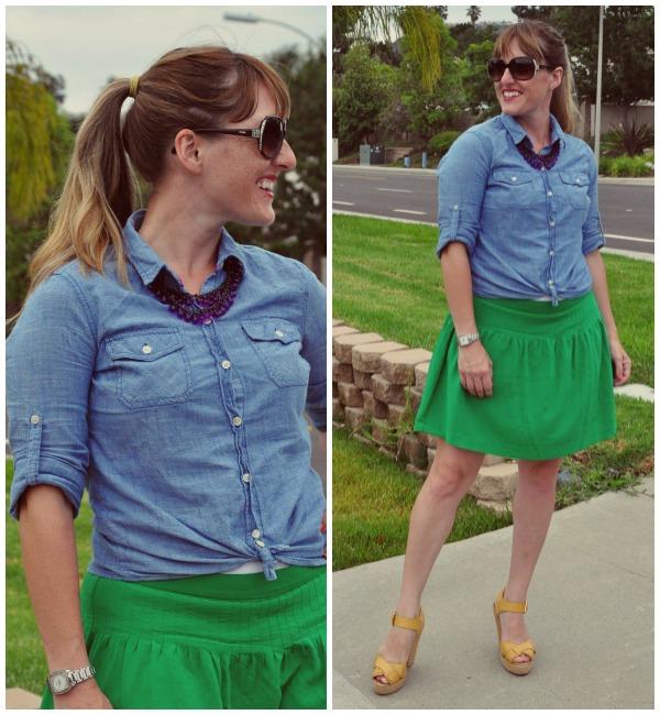 green skirt 2