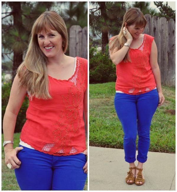 coral shirt 2