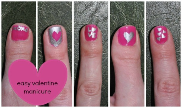 Valentine-Nail-Collage